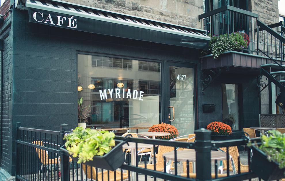 Café Myriade - Le Plateau