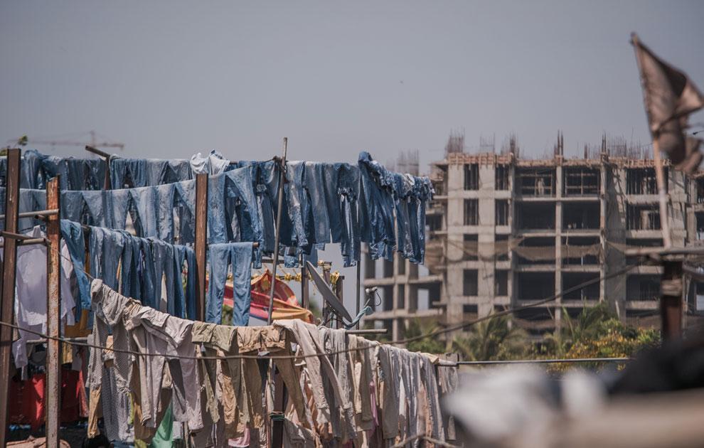 Cordes à linge à Mumbai