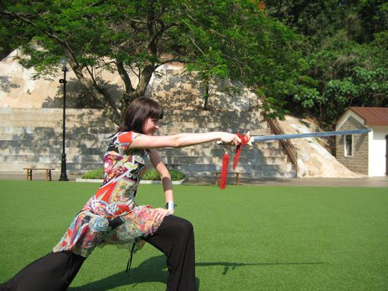 Leçon de Kung Fu