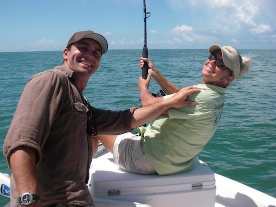 Mordu de la pêche