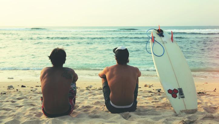 OuiSurf à Bali