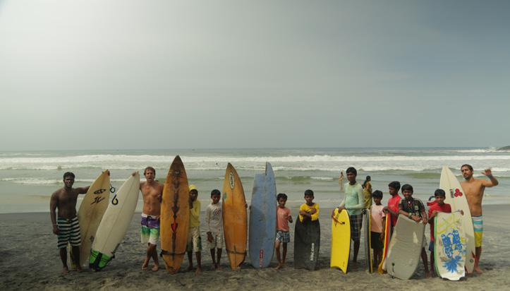 OuiSurf au Sri-Lanka