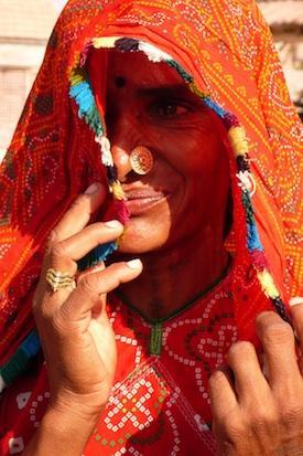 Priscilla en Inde