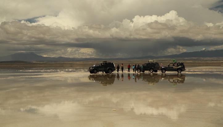 Tout inclus sur la route en Bolivie et au Pérou