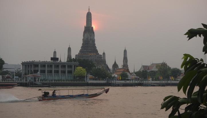 Tout inclus sur la route en Thailande
