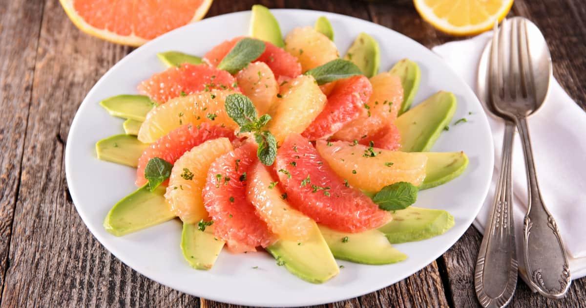 recette salade saumon avocat