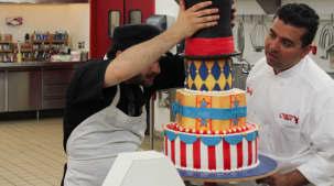 Lumières, caméra, gâteau!