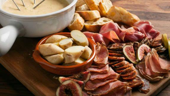 Fondue au fromage à l'Alexander (sans vin)