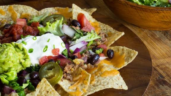 nachos iberico
