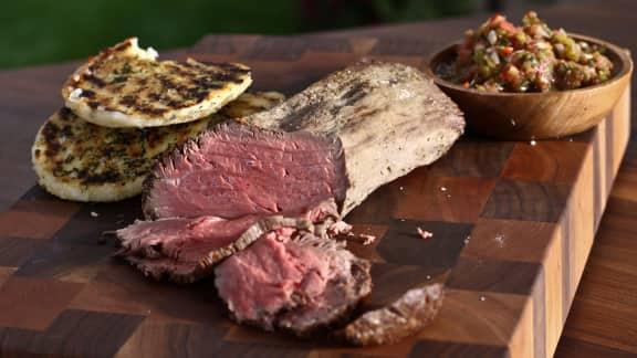 Filet De Boeuf En Croute De Sel Grille Au Torchon Foodlavie