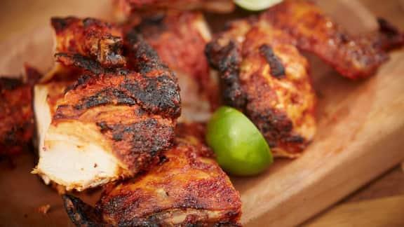 Mon poulet grill foodlavie - Comment faire du poulet grille ...