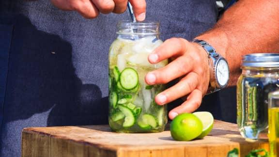 gin concombre