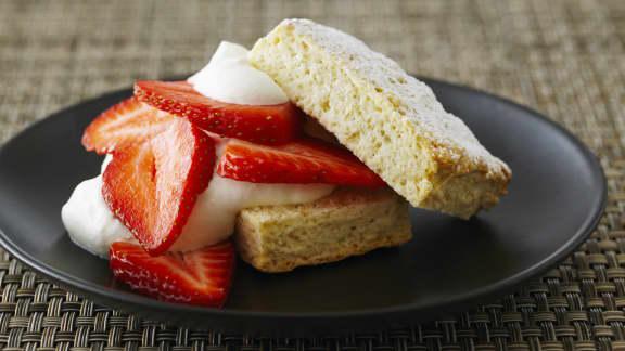 shortcake classique aux fraises