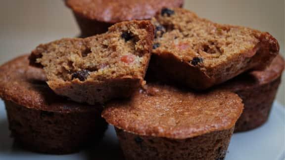 muffins au melon d'eau