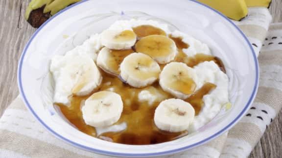 riz au lait à la banane
