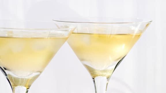 cocktail au limoncello de Martin Juneau
