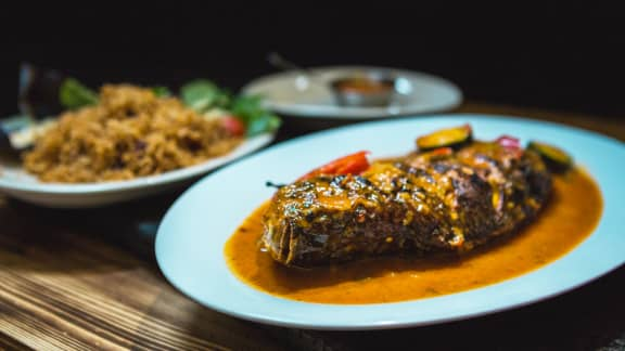 Vendredi : Tilapia grillé « Saint-Pierre »