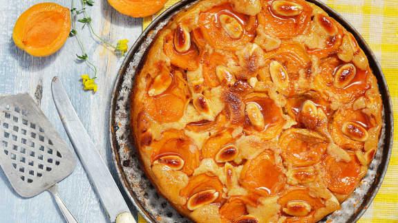 Tarte aux abricots et à la crème d'amande