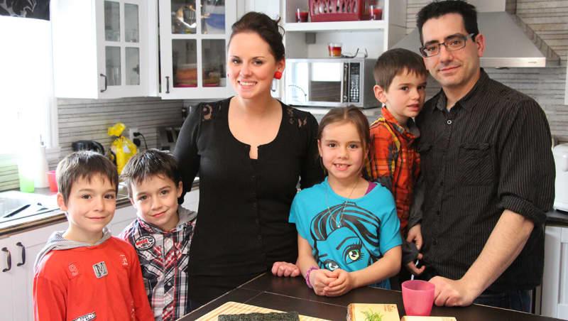 Famille de 8 enfants