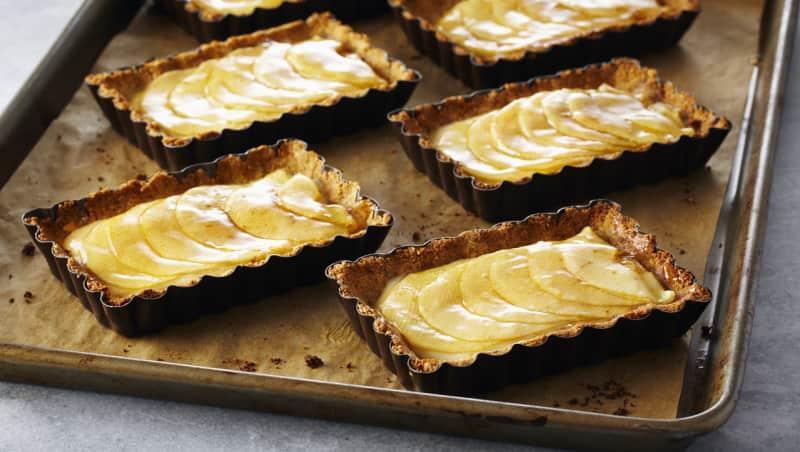 Tartes et pâte sans farine