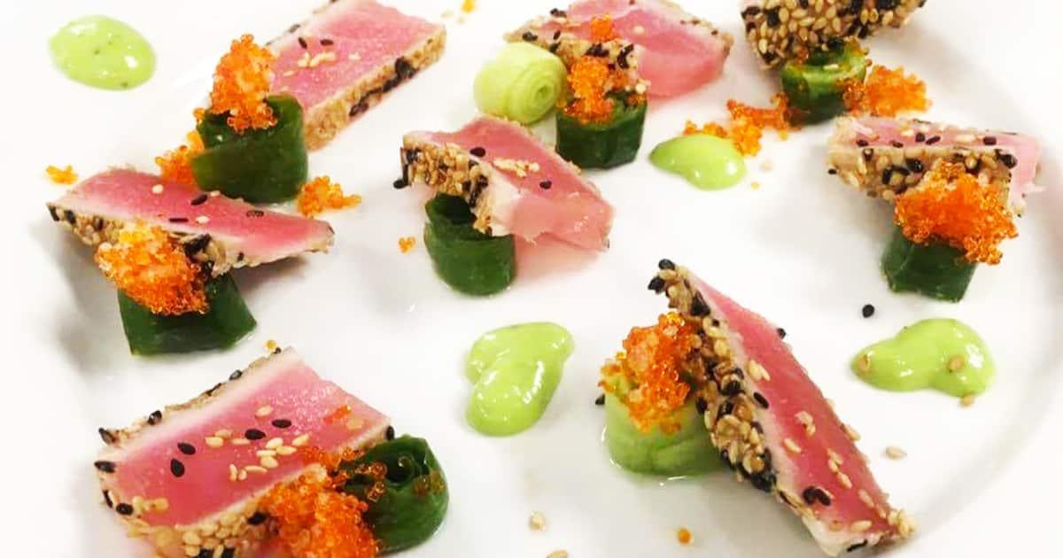 Recette de tataki de thon rouge et caramel de soya | Foodlavie on