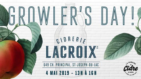 Growler's day au à la Cidrerie Lacroix