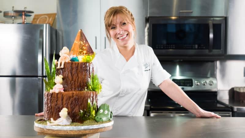 Gâteau féérique