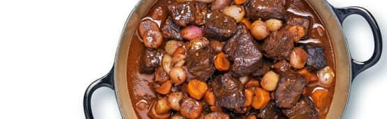 5 recettes de boeuf bourguignon réconfortantes