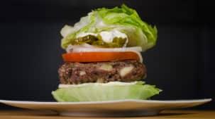 Le burger au jalapeno