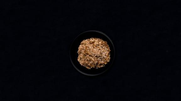 Coriandre, paprika fumé et citron