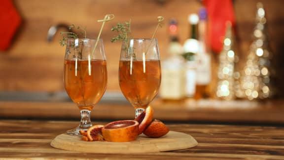 Vin chaud au vermouth blanc