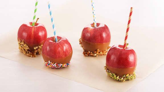 Pommes au caramel