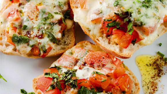 Bruschetta au fromage
