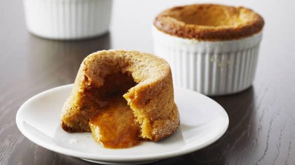 Gâteaux-biscuits chauds au beurre d'arachides