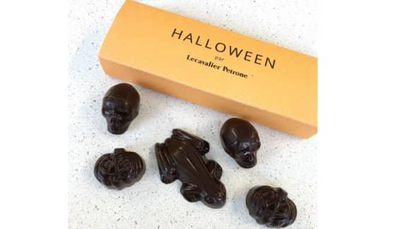 Le chocolatier montréalais Lecavalier Petrone propose ses chocolats d'Halloween en quantité limitée!