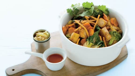 Recette de Stir-fry au tofu