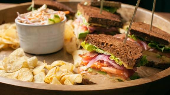 Sandwich de match