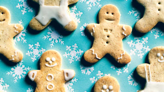 Pâte à biscuit festive