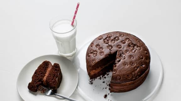 Gâteau au chocolat…très chocolaté
