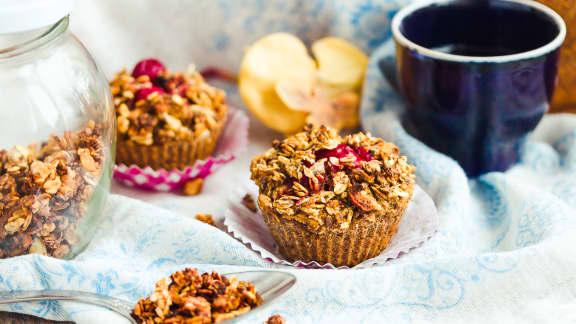 Recette De Muffins Sante Quinoa Et Canneberges Foodlavie