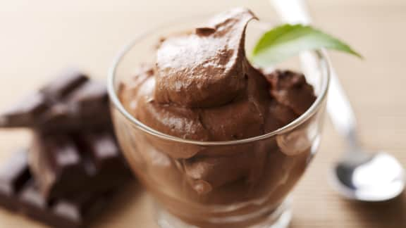 Mousse chocolatée à l'avocat