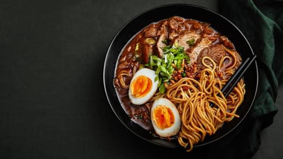 Cuisinez les meilleures soupes ramen avec nos recettes!
