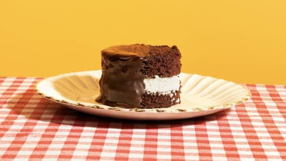 Gâteau hommage aux joe louis