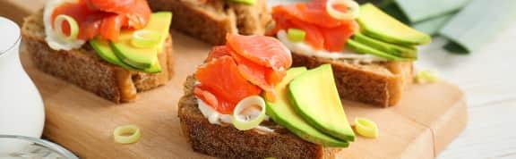 Sandwichs et tartines