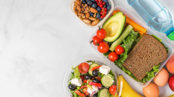 Préparer un lunch santé et nourrissant