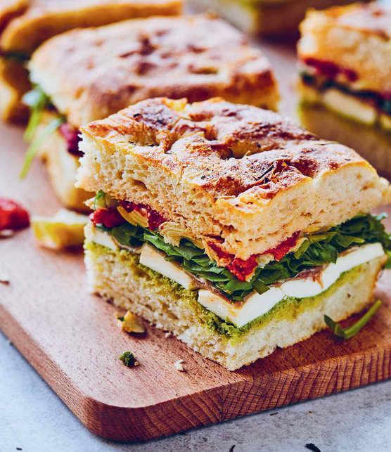 Muffaletta (sandwich pressé à l'italienne)