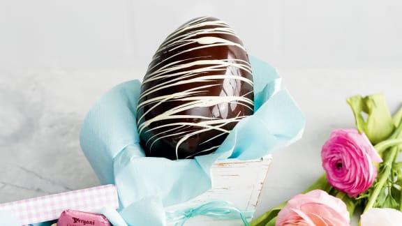 L'œuf de Pâques en chocolat