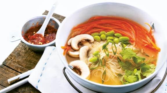 soupe-repas aux edamames