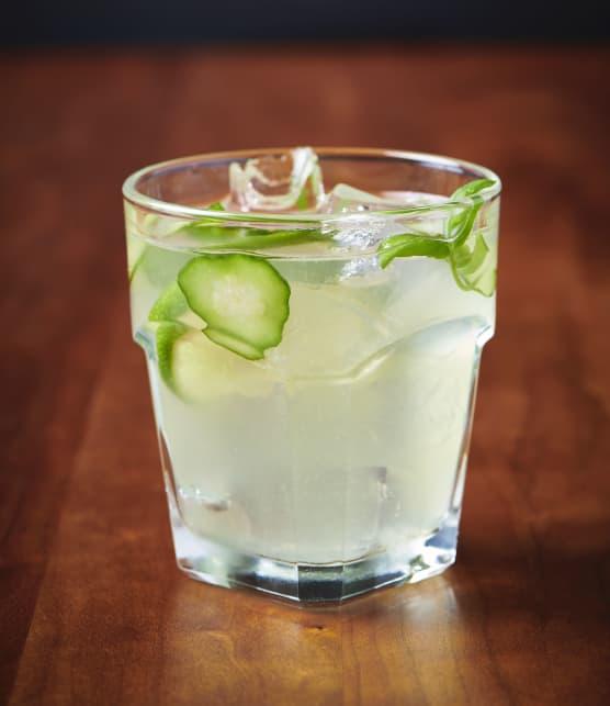 Gin aux concombres et aux herbes