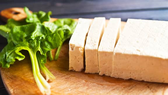 Congeler le tofu